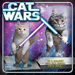 Cat Wars Wall Calendar 2022