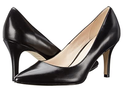Cole Haan Juliana Pump 75mm (Black Leather) High Heels