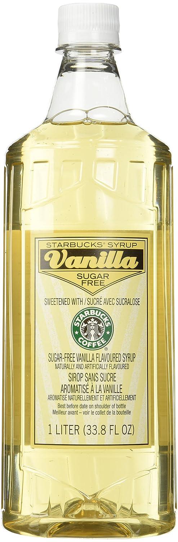 Starbucks Sugar-Free Vanilla In a popularity 1-L. Syrup Classic
