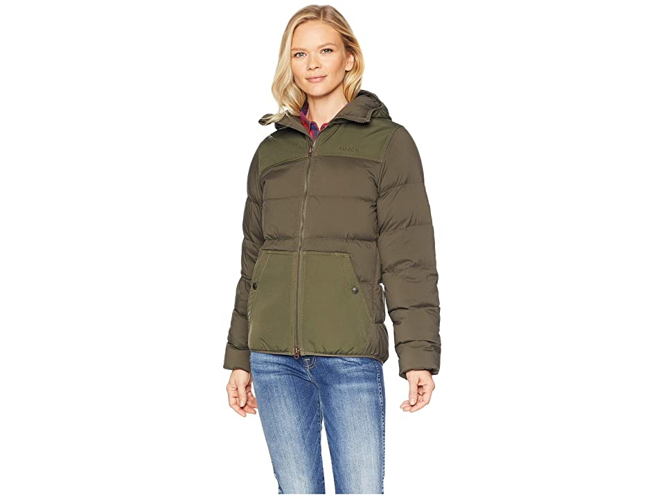 Filson Featherweight Down Jacket (Otter Green) Women