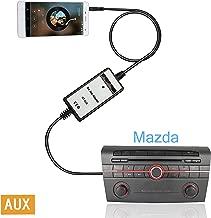 Moonet Mazda Ipod Iphone Car Adapter Integration Kit System Module for Mazda 2 3 5 323 Miata Mx5 Miata SPD Tribute Premacy B-Series Pickup