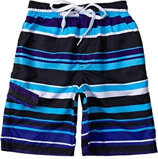 Sponsored Ad - Boys Swim Trunks, Quick Dry Drawstring UPF 50+ Kids Swim Shorts, Toddler Beach Shorts, Boardshort, Boy Swim...
