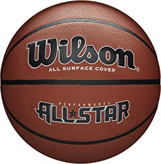 Wilson WTB4041XB07 Pelota de Baloncesto All Star Caucho Interior y ...
