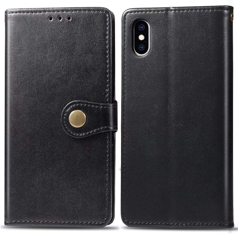 Case for iPhone Xs Abtory PU Max 50% OFF Sof Leather Folio Flip Topics on TV Wallet