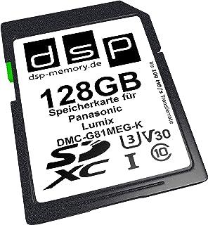 DSP Memory 128GB Professional V30 Speicherkarte für Panasonic Lumix DMC G81MEG K Digitalkamera