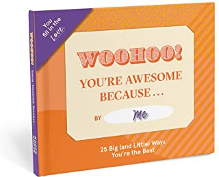 Knock Knock You're Awesome Because … Fill in The Love Because Book Fill-in-The-Blank Gift Journal, 5 x 5.75-Inches