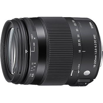 Sigma 885 - Objetivo para canon (distancia focal18-200 mm, macro ...