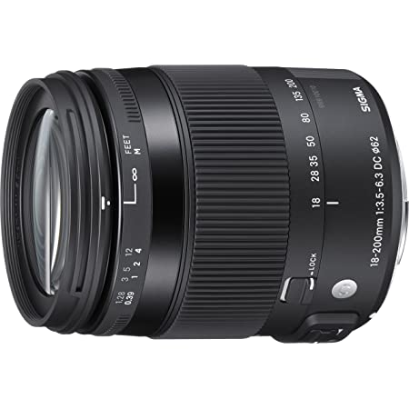 SIGMA 18-200mm F3.5-6.3 DC MACRO OS HSM   Contemporary C014   Canon EF-Sマウント   APS-C/Super35