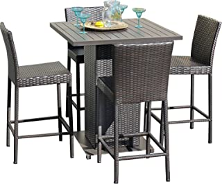 Pub Table Patio Furniture Sets Amazon Com