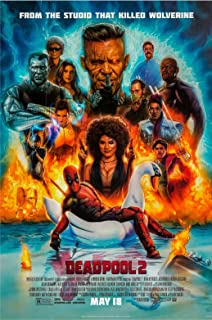Deadpool 2 Movie Poster US Style B Version, Size 24x36