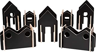 The Freckled Frog Happy Architect - Create 'N' Play - Set of 28 - Ages 2+ - Wooden Blocks for Preschoolers and Elementary ...