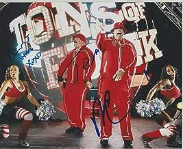 Funkadactyls Signed WWE 8x10 Photo Cameron Lynn Naomi Brodus Clay & Tensai - Autographed Wrestling Photos