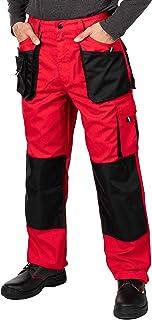 comprar comparacion Pantalones de Trabajo para Hombre, Pantalon de Seguridad, Pantalones de Proteccion, Ropa Hombre, Bolsillos Multiusos, S - ...