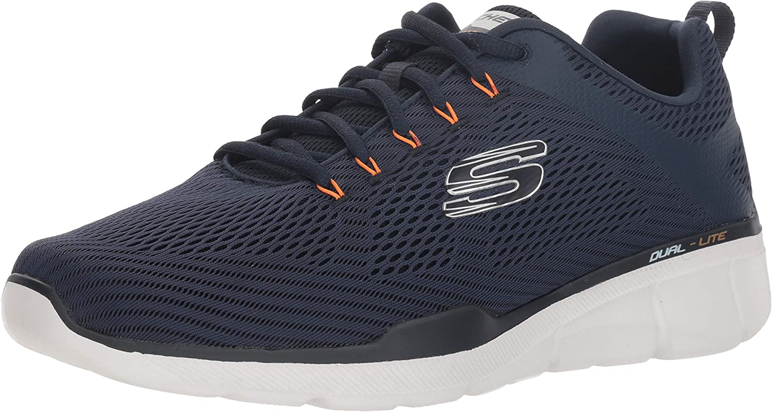 Skechers52927 - Equalizer 3.0 Herren, Blau (Marineblau Orange), 40 XW EU