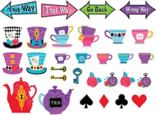 Mad Tea Party Cutouts (30 ct)