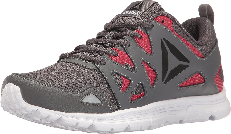 Reebok Men's Run Supreme 3.0 MT shoes, ASH Grey Excellent RED Black White, 11 M US