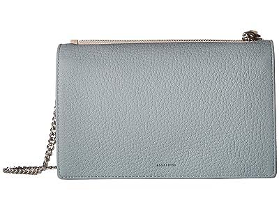 AllSaints Fetch Chain Wallet (Multi Sky Blue) Wallet Handbags
