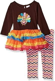Baby Girls' Thanksgiving Tutu Turkey Dress & Legging