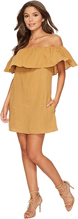 Double Gauze Senorita Mini Dress