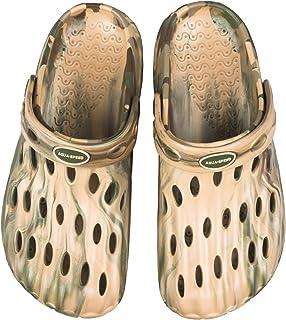 Aqua Speed® Isla II Mulas para Hombres (Tamaños 39-46 Zuecos Sandalia Piscina Playa Orificios de ventilación)