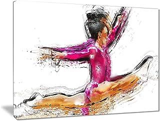 Rings Painting Like Modern Wall Decor sticker cfb 18 Painteeze Gymnastics