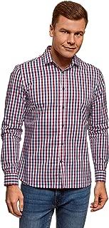 Ultra Men's Long Sleeve Checkered Shirt