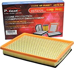 POTAUTO MAP 6041 (CA7597) Engine Air Guard Filter Replacement for BUICK, CADILLAC, CHEVROLET, OLDSMOBILE, PONTIAC, SATURN