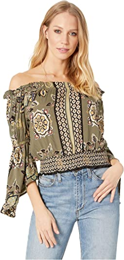 2a2273d6774555 106. Angie. Embellished Long Sleeve Top