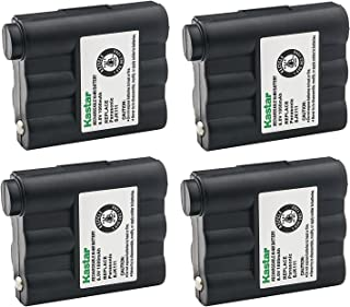 Kastar Cordless Battery 4 Pack Ni-MH 6V 1000mAh, Replacement Two-Way Radio Battery for Lenmar RBZ302MI, Empire FRS-005-NH FRS005NH, Radio Shack 23-021 23021 5SN-AAA70H-SV-P 5SNAAA70HSVP