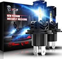 HIMA4X4 H11 H9 H8 LED Headlight Bulbs 60W 8000LM Cree LED 6500k Fanless Headlight Bulbs Replacement Conversion Kit Xenon White All In One Pack Of 2
