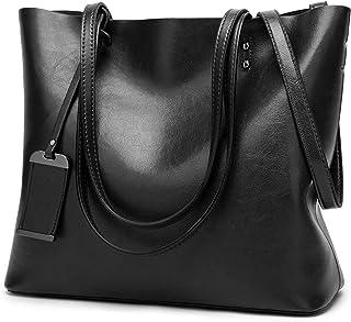 Aburnudrey Handtasche Damen Shopper Schultertasche Umhängetasche Damen Tragetasche Groß Damen Tasche Tote