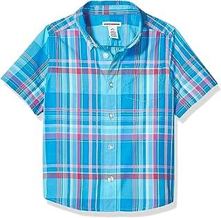 Boys' Short-Sleeve Poplin/Chambray Shirt