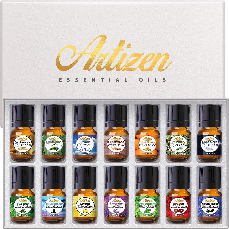 2. Artizen Top 14 Essential Oil Set