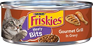 Purina Friskies Meaty Bits in Gravy Adult Wet Cat Food - (24) 5.5 oz. Cans