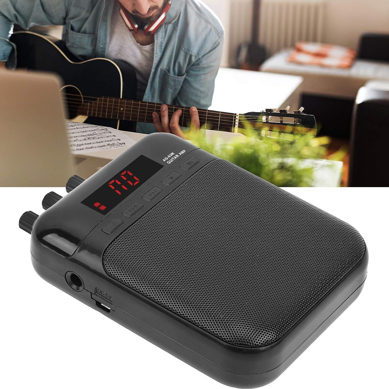 Amplificador de aroma, Pedal de efecto de distorsión USB Función de grabación Altavoz de guitarra ABS, para música en casa