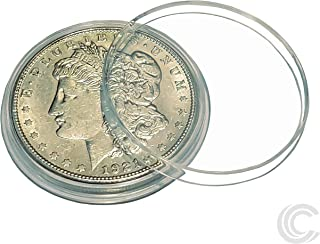 Silver Dollar Coin Holders 38mm Morgan, Peace, IKE Silver Dollar (50 Pack)