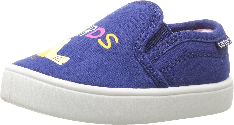 Carter's Unisex-Child Tween Girl's Casual Slip-on Sneaker