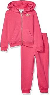 Juicy Couture 橘滋 女童连帽运动套装 2 件套
