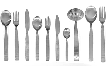 Mepra 45-Piece Tigre Ice Flatware Set