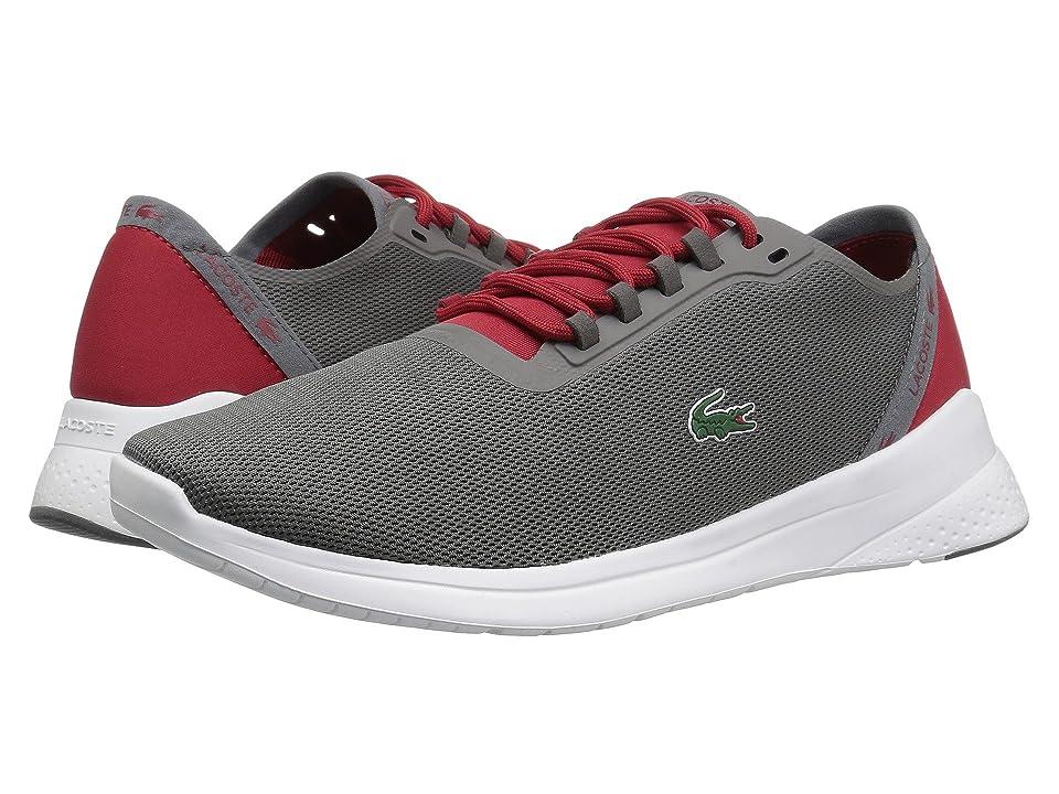 Lacoste LT Fit 118 4 (Dark Grey/Red) Men