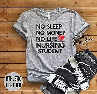 Nurse shirt, Nursing student shirt, Soft Bella Cotton Shirts