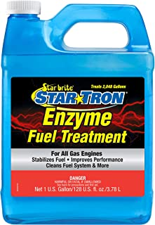 Star Tron Enzyme Fuel Treatment Concentrate - Rejuvenate & Stabilize Old Gasoline, Cure Ethanol Problems, Improve MPG, Reduce Emissions, Increase Horsepower