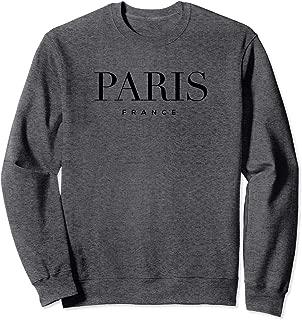 Paris France Graphic Sweatshirt
