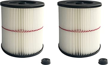 ATXKXE Vacuum Cleaner Air Cartridge Filter for Craftsman 17816 Filter (2 Pack)