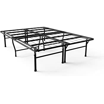 Quiet Noise-Free Strong Sturdy 4 Extra Inches high for Under-bed Storage Twin OLB-SB13-18T Box Spring Replacement Zinus Casey 18 Inch Premium SmartBase Mattress Foundation Platform Bed Frame