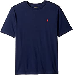 Polo Ralph Lauren Kids - Cotton Jersey Crew Neck T-Shirt (Big Kids)