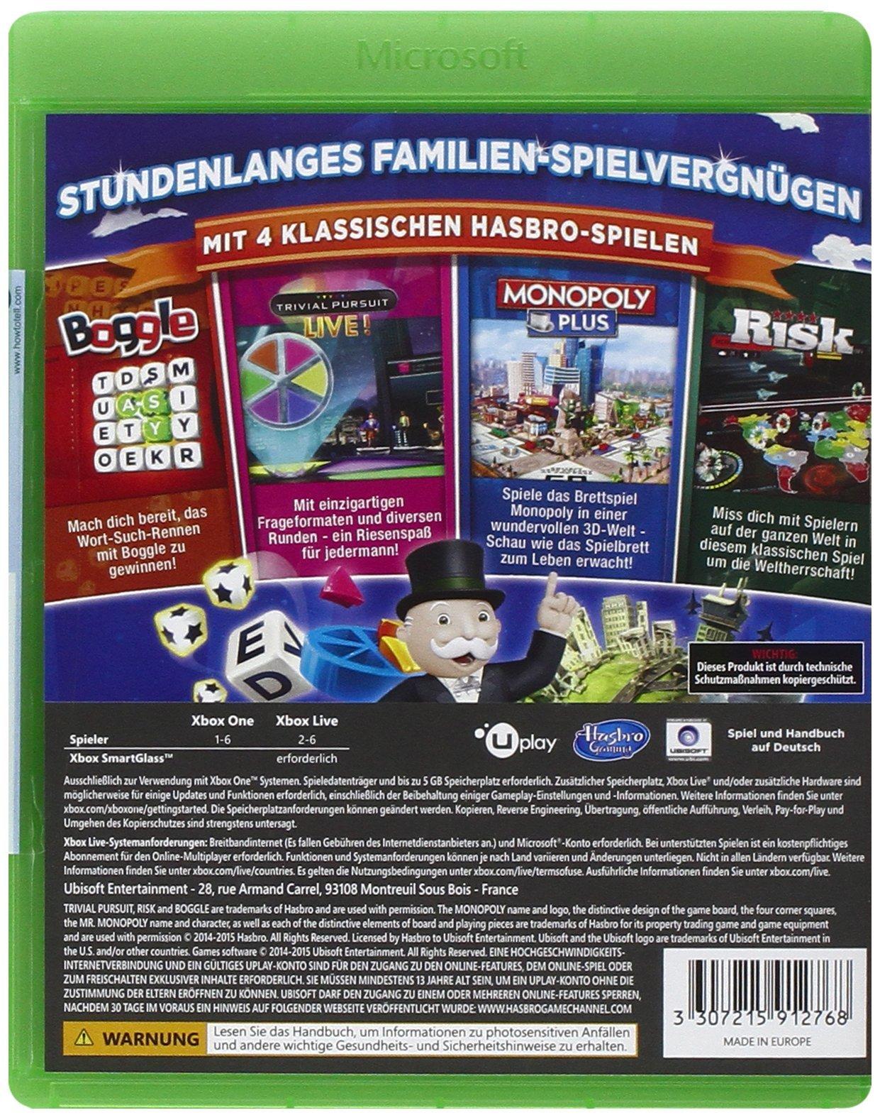 Ubisoft Hasbro Family Fun Pack, Xbox One - Juego (Xbox One, Xbox ...