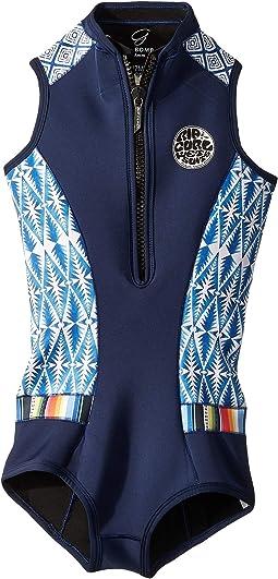G Bomb Sleeveless Bikini Spring Suit