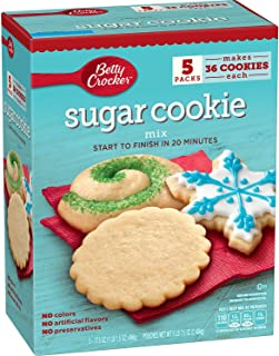 Betty Crocker Holiday Sugar Cookies Mix Kit Recipe Collection Makes 15 Dozen Cookies