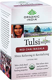 Organic India Tea Tulsi Red Chai Masala
